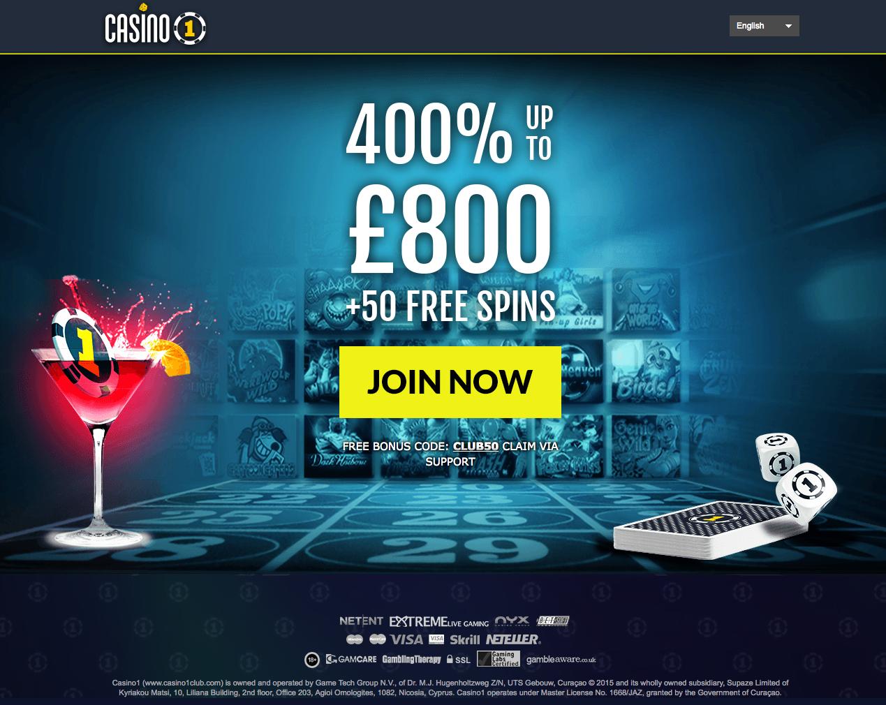 casino 1 club review